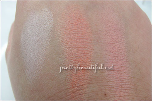 Laneige Fresh Modernist Makeup Blusher Swatch