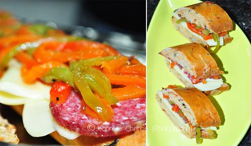 """""""Sandwich para Enamorar"""" de @comidadesoltero"""
