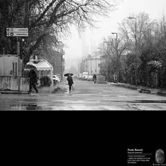 via del Mulinetto... (paolo.benetti) Tags: bw nikon strada italia via neve ferrara inverno marzo città d300 estremità