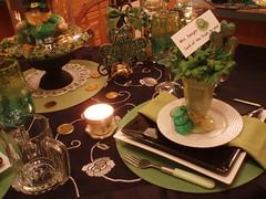 P1011721 (dining delight) Tags: irish black green kitchen beer candle ivy stpatricksday leprechaun potofgold sharmrock