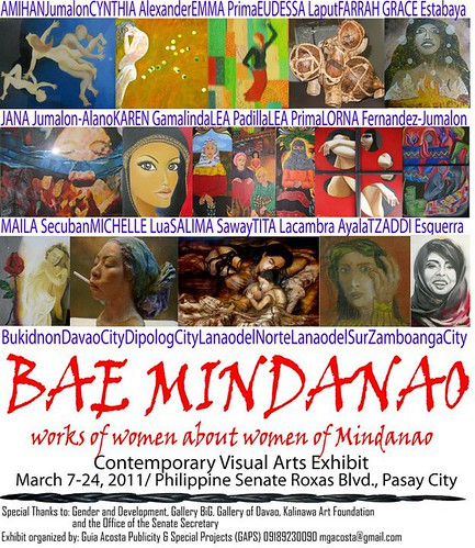 Bae Mindanao - Contemporary Visual Arts Exhibit