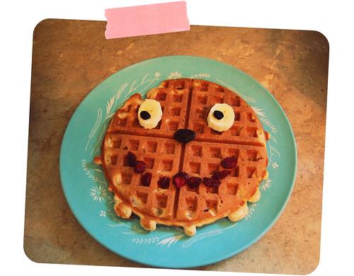 waffle face