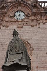 Ave Maria (Ricko31) Tags: voyage statue horloge espagne façade avemaria majorque faade sanctuaridelluc