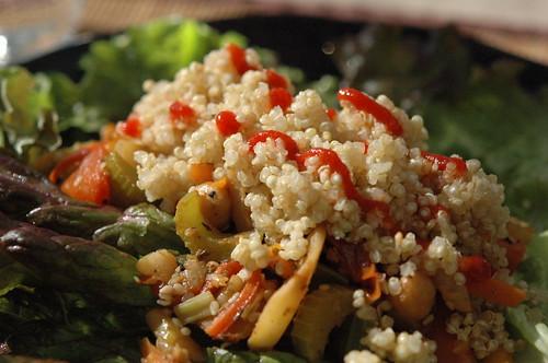 Lettuce Wrap w/ Sriracha