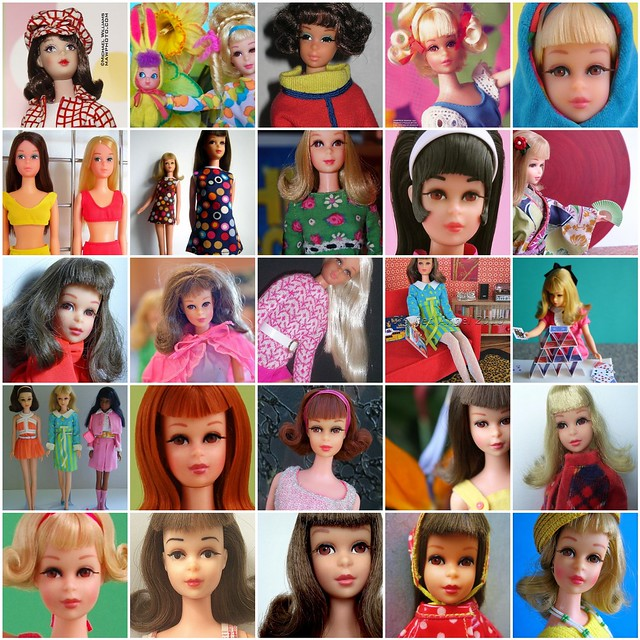 fashion toy model fdsflickrtoys mod doll mosaic vinyl barbie favorites cousin mattel francie teenage