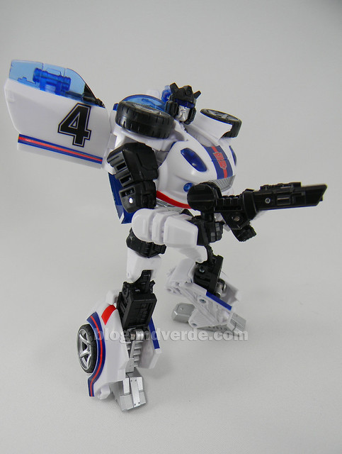 Transformers Jazz United Deluxe - modo robot