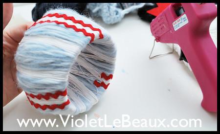 Wrapped Yarn Bangle Tutorial