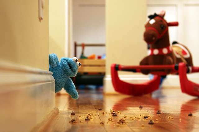 Cookie Monster Trap