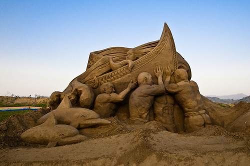 Nantou City Sand Sculpture Festival 2011