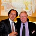 Mardan Palace general manager Cumhur Ozen with World Travel Awards founder Graham Cooke