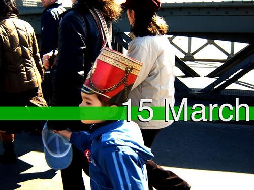 hussar hat for children, programmes for children on 15 March