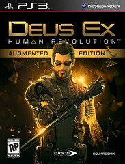 Deus Ex Augemented Ed Pack Art PS3
