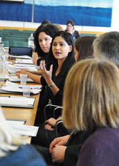Members of the Work and Pensions Committee listen to concerns about DLA and the WCA at a disability roundtable (UK Parliament) Tags: london westminster housesofparliament houseofcommons mps workandpensionscommittee