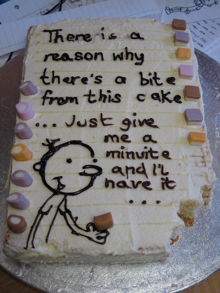 Wimpy Kid  cake (2)