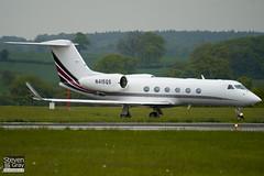 N415QS - 4014 - Netjets - Gulfstream G450 - Luton - 100519 - Steven Gray - IMG_2358