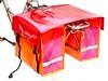 Clarijs-panniers-XL-red-orange-pink (@WorkCycles) Tags: dutch amsterdam bike bicycle depoort panniers fietstassen willex clarijs workcycles fastrider bisonyl