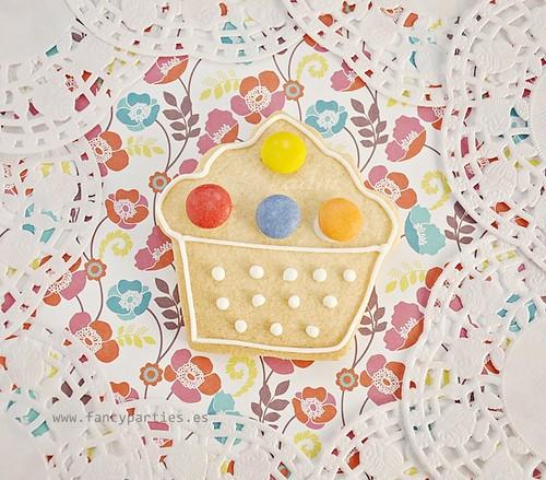 Spring Cupcake Cookie