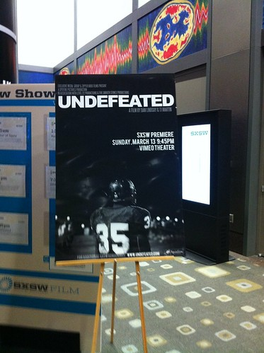 Undefeated poster at SXSW