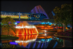 Monorail Monday (Silver1SWA (Ryan Pastorino)) Tags: world canon epcot disney imagination pavilion monorail walt 40d