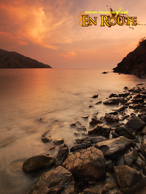 The rugged shores of Nagsasa