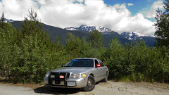 WP4402 (C-GCLL) Tags: canada ford car bc britishcolumbia royal police victoria du canadian mounted vehicle crown rcmp cruiser royale crownvictoria unmarked grc gendarmerie wp4402