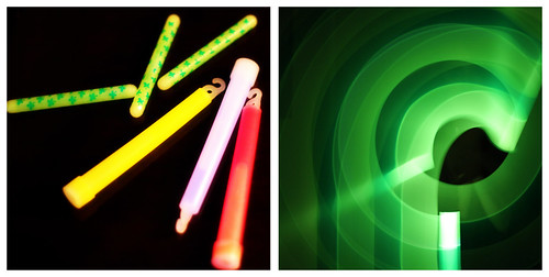 glowstick collage 2
