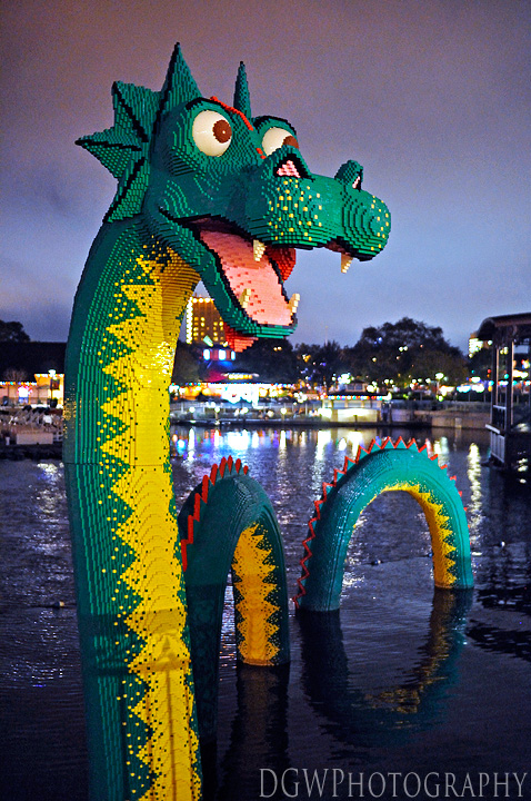 Downtown Disney - LEGO Sea Monster