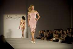 Stop Looking! Fashion Runway 2011 (henryjose) Tags: fashion los 60s looking angeles models style retro stop dresses week 50s chic runway