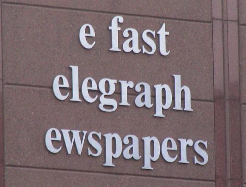 e fast elegraph ewspapers