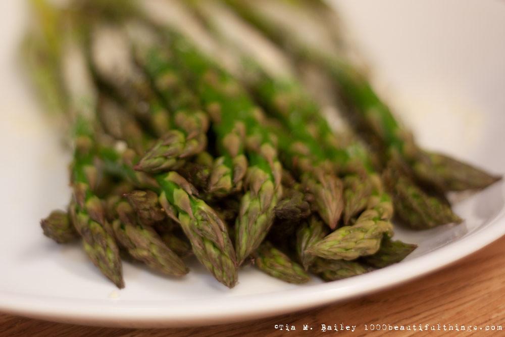Roasted Asparagus w/ Light Parmesean Cheese