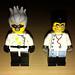 LEGO Collectible Minifigures Series 4 Crazy Scientist vs  Studios
