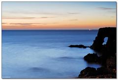 Catania - If tomorrow never comes (ciccioetneo) Tags: italy speed sunrise photography 50mm dawn nikon long exposure italia slow alba filter aurora nd shutter sicily d200 grad catania sicilia cokin gnd p121 nd8 ognina ciccioetneo