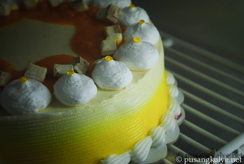 Mango Cheesecake Blizzard Cake