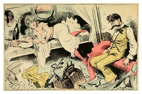 009-El mareo-La grande mascarade parisienne 1881-84-Albert Robida
