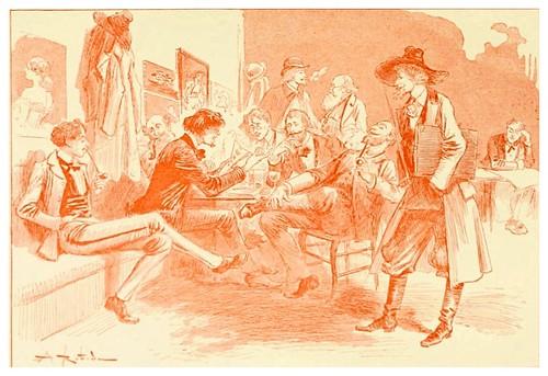 028-Creacion de un periodico-Le 19e siècle 1888- Albert Robida