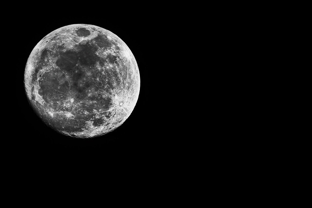 Extreme Super moon in Seoul Korea