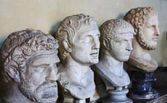 Vatican Museum (*Brad M.*) Tags: italy sculpture vatican rome roma museum italia vaticano bust heads ancestors romans vaticancity