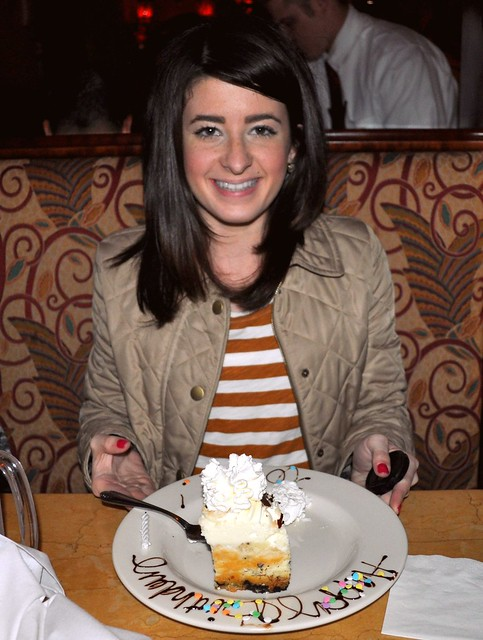 Birthday at Cheesecake Factory