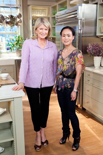 Martha Stewart and I