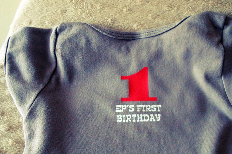 Elisha's First Birthday!