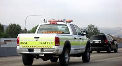 BLM Fire Pickup (Bureau of Land Management) (Photo Nut 2011) Tags: california car truck pickup freeway dodge firedepartment blmfire