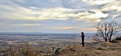 Panoráma - Somló (Polgár Ádám) Tags: naplemente felhő ősz tél panoráma szürke kopasz somló borús mereng