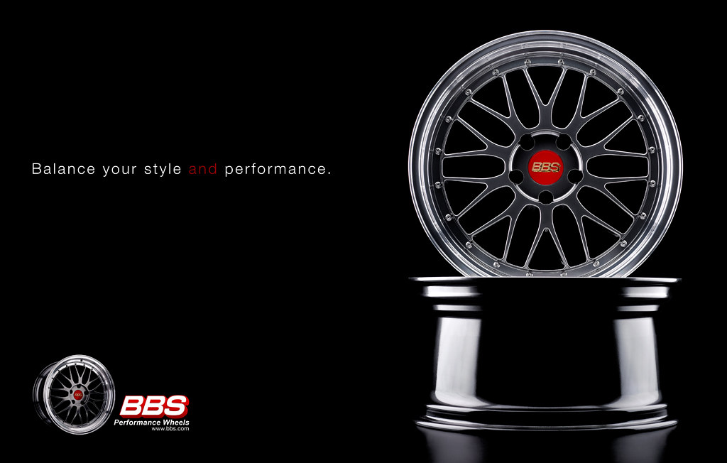 BBS Wheels - Product Advertisement