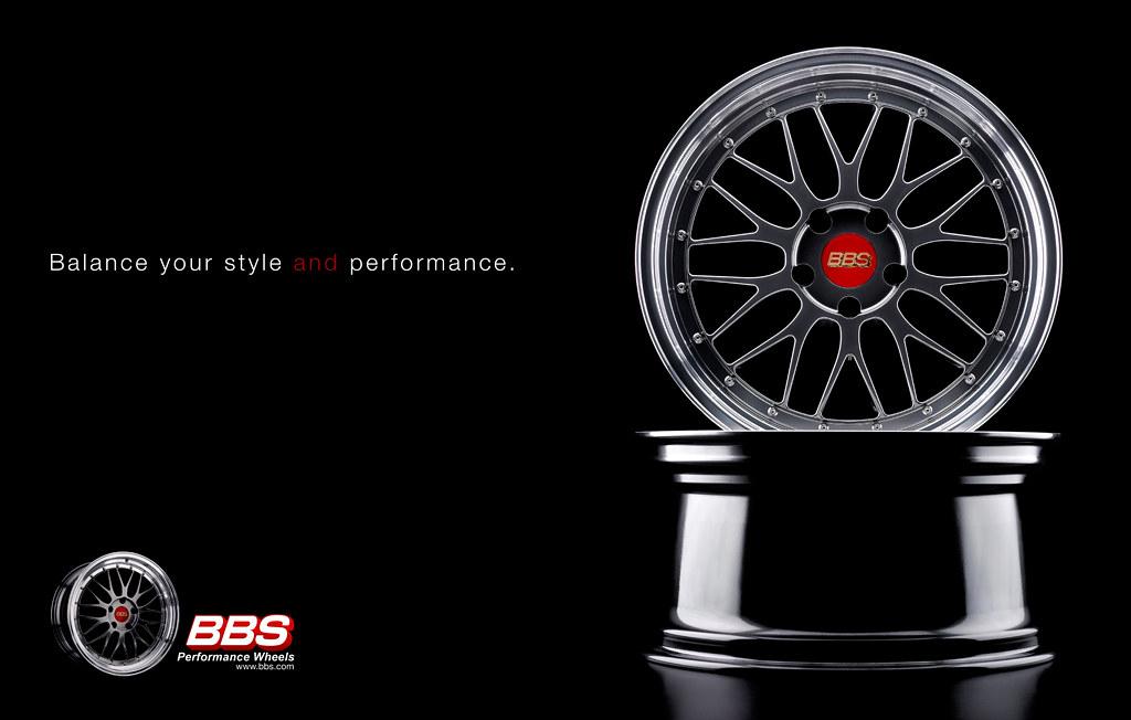 BBS Wheels - Product Advertisement