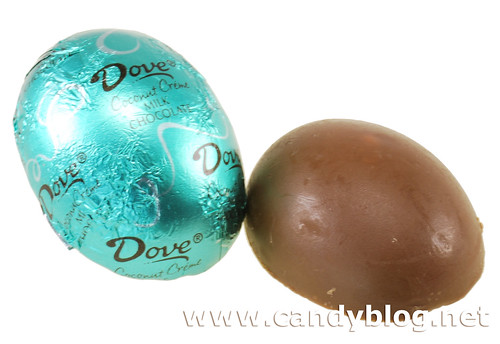 Dove Coconut Creme Milk Chocolate Eggs