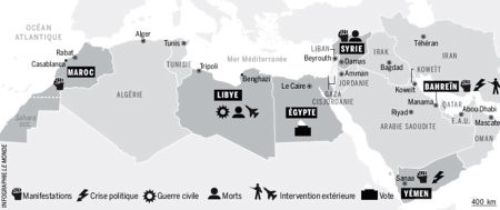 11c21 LMonde 21 22 marzo 2011 revueltas países árabes