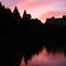 夕焼け空の反射
