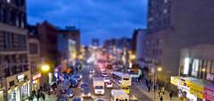 125th Street (StCoh) Tags: city night traffic harlem 125thstreet tiltshift 125th