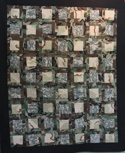 military memory quilt, custom memory quilt, army quilt, mamaka mills