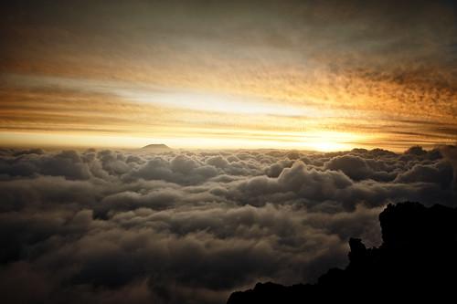 フリー写真素材, 自然・風景, 雲, 夕日・夕焼け・日没,